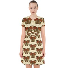 Butterfly Butterflies Insects Adorable In Chiffon Dress