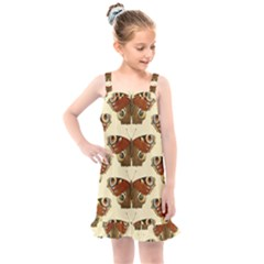 Butterfly Butterflies Insects Kids  Overall Dress