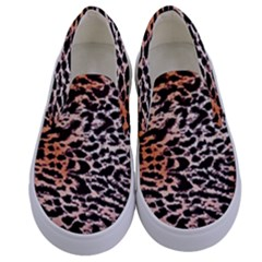 Tiger Motif Animal Kids  Canvas Slip Ons