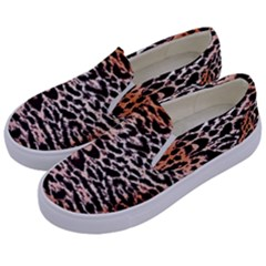 Tiger Motif Animal Kids  Canvas Slip Ons by Jojostore