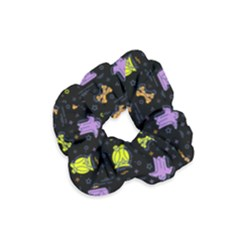 Halloween Pattern 2 Velvet Scrunchie by JadehawksAnD