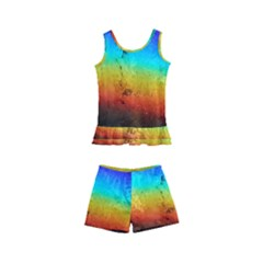 Rainbow Color Prism Colors Kid s Boyleg Swimsuit