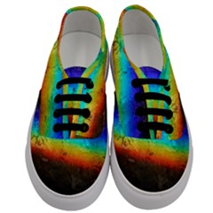Rainbow Color Prism Colors Men s Classic Low Top Sneakers