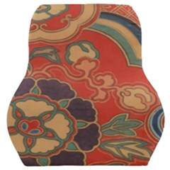 Vintage Chinese Brocade Car Seat Back Cushion  by Jojostore