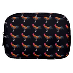 Background Pattern Chicken Fowl Make Up Pouch (small) by Jojostore