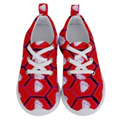 Red Bee Hive Running Shoes by Jojostore
