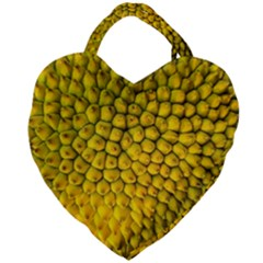 Jack Shell Jack Fruit Close Giant Heart Shaped Tote by Jojostore
