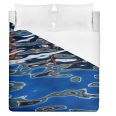 Colorful Reflections In Water Duvet Cover (queen Size) by Jojostore