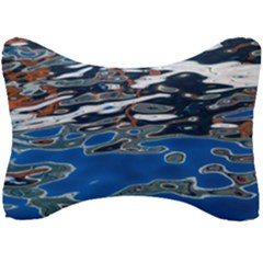Colorful Reflections In Water Seat Head Rest Cushion