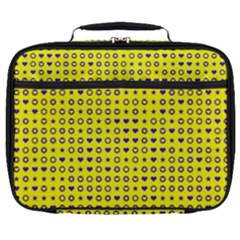 Heart Circle Star Seamless Pattern Full Print Lunch Bag by Jojostore