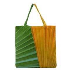 Pattern Colorful Palm Leaves Grocery Tote Bag by Jojostore