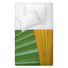 Pattern Colorful Palm Leaves Duvet Cover (single Size) by Jojostore