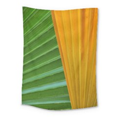 Pattern Colorful Palm Leaves Medium Tapestry by Jojostore