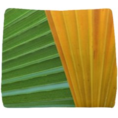 Pattern Colorful Palm Leaves Seat Cushion