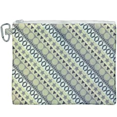 Abstract Seamless Pattern Canvas Cosmetic Bag (xxxl) by Jojostore