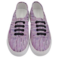 Purple Rain Women s Classic Low Top Sneakers