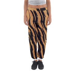 Tiger Animal Print A Completely Seamless Tile Able Background Design Pattern Women s Jogger Sweatpants