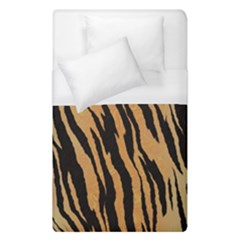 Tiger Animal Print A Completely Seamless Tile Able Background Design Pattern Duvet Cover (single Size) by Jojostore