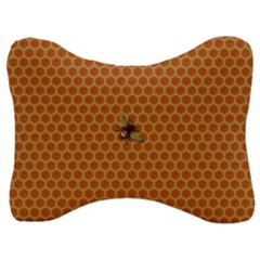 The Lonely Bee Velour Seat Head Rest Cushion by Jojostore