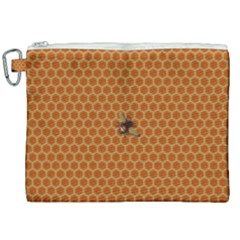 The Lonely Bee Canvas Cosmetic Bag (xxl) by Jojostore