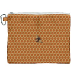 The Lonely Bee Canvas Cosmetic Bag (xxxl) by Jojostore