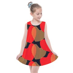 Heart Pattern Kids  Summer Dress