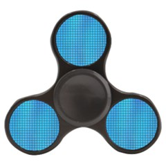 Seamless Blue Tiles Pattern Finger Spinner by Jojostore