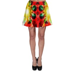 Abstract Abstract Digital Design Skater Skirt