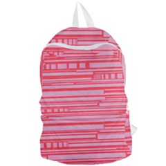 Index Red Pink Foldable Lightweight Backpack