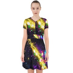 Galaxy Deep Space Space Universe Stars Nebula Adorable In Chiffon Dress