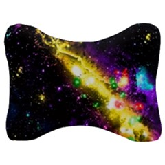 Galaxy Deep Space Space Universe Stars Nebula Velour Seat Head Rest Cushion by Jojostore