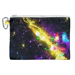 Galaxy Deep Space Space Universe Stars Nebula Canvas Cosmetic Bag (xl) by Jojostore