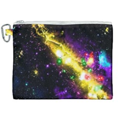 Galaxy Deep Space Space Universe Stars Nebula Canvas Cosmetic Bag (xxl) by Jojostore