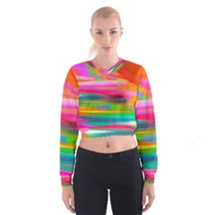 Abstract Illustration Nameless Fantasy Cropped Sweatshirt