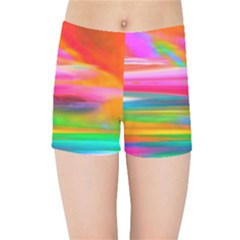 Abstract Illustration Nameless Fantasy Kids Sports Shorts by Jojostore