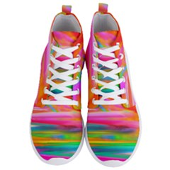 Abstract Illustration Nameless Fantasy Men s Lightweight High Top Sneakers