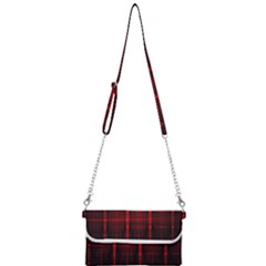 Black And Red Backgrounds Mini Crossbody Handbag by Jojostore