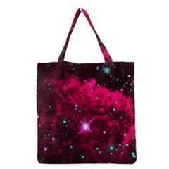 Pistol Star And Nebula Grocery Tote Bag by Jojostore