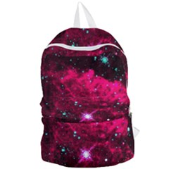 Pistol Star And Nebula Foldable Lightweight Backpack
