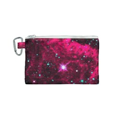 Pistol Star And Nebula Canvas Cosmetic Bag (small) by Jojostore