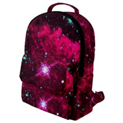 Pistol Star And Nebula Flap Pocket Backpack (small) by Jojostore