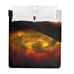 Galaxy Nebula Space Cosmos Universe Fantasy Duvet Cover Double Side (full/ Double Size)