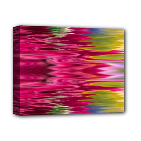 Abstract Pink Colorful Water Background Deluxe Canvas 14  X 11  (stretched) by Jojostore