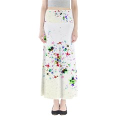 Star Structure Many Repetition Full Length Maxi Skirt by Jojostore