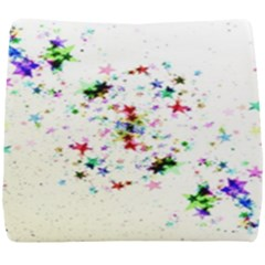 Star Structure Many Repetition Seat Cushion by Jojostore