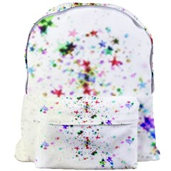 Star Structure Many Repetition Giant Full Print Backpack by Jojostore