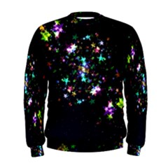 Star Structure Many Repetition Men s Sweatshirt