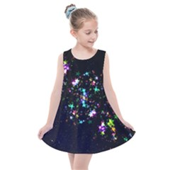 Star Structure Many Repetition Kids  Summer Dress by Jojostore