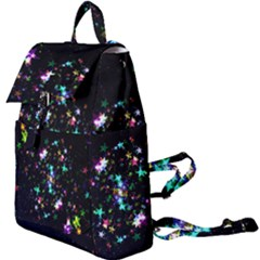 Star Structure Many Repetition Buckle Everyday Backpack