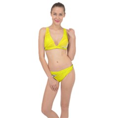 Fractal Abstract Background Classic Banded Bikini Set
